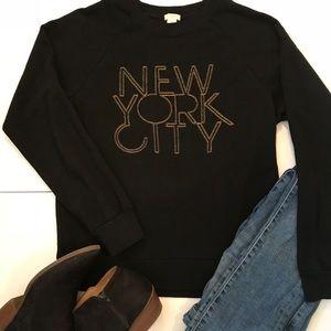 "J Crew ""New York City"" Sweatshirt"